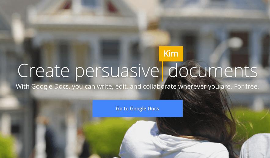 google docs affiliate