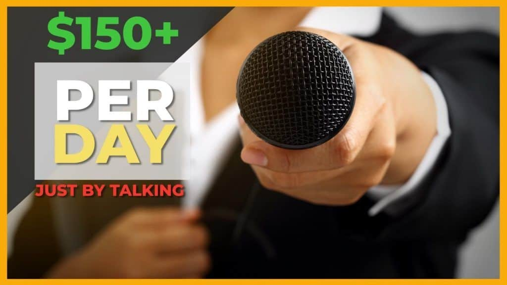 how to make $150 per day just by talking